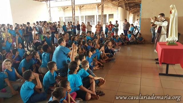 Em Sandovalina – SP, Missões para Cristo com Maria na Paróquia Santo Antônio