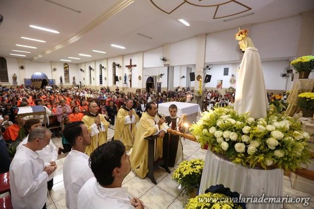 Em Cambará – PR, encerramento de semana missionária na Paróquia Nossa Senhora Aparecida