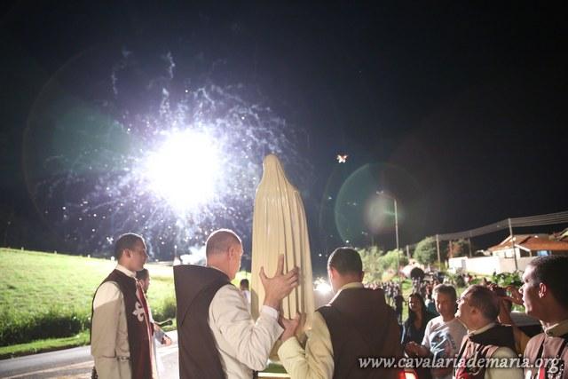 Em Jacarézinho – PR, na Paróquia São Pedro Apóstolo, abertura de semana missionária