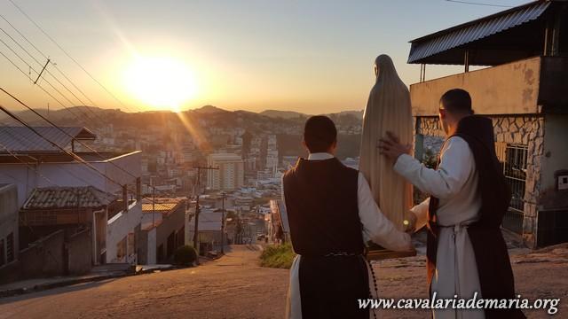 Em Juiz de Fora – MG, na Paróquia Santa Rita de Cássia, semana missionária