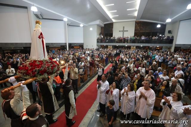 Em Vitoria – ES, Missões Marianas na Paróquia da Ressurreição