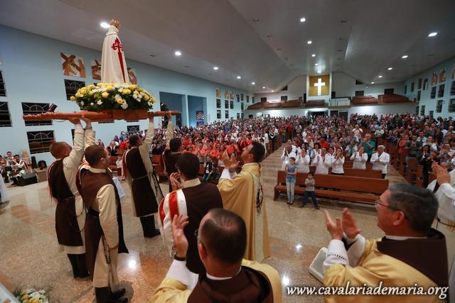 Em Joinville – SC, Missões Marianas na Paróquia Nossa Senhora de Fátima