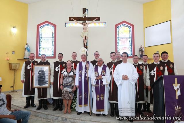 No Domingo Gaudete, Missa com Cardeal