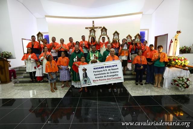 Em Nazaré Paulista – SP, 1ª Missão Mariana do ano 2018