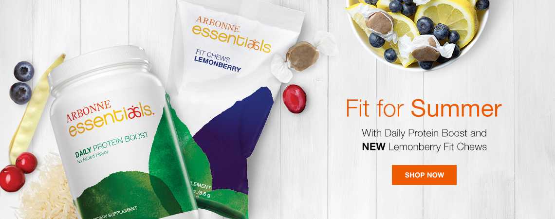 Fit for Summer. With Daily Protein Boost and Lemonberry Fit Chews. Shop Now