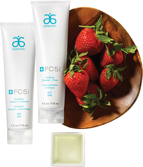 Skincare & Hair Care Products, FC5 by Arbonne