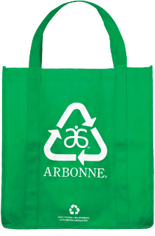 Arbonne recyclable cloth bag