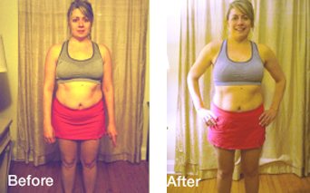Evolution Challenge Before and After pictures - Jessica Moylan