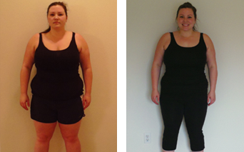 Evolution Challenge Before and After pictures - Tess Epperson
