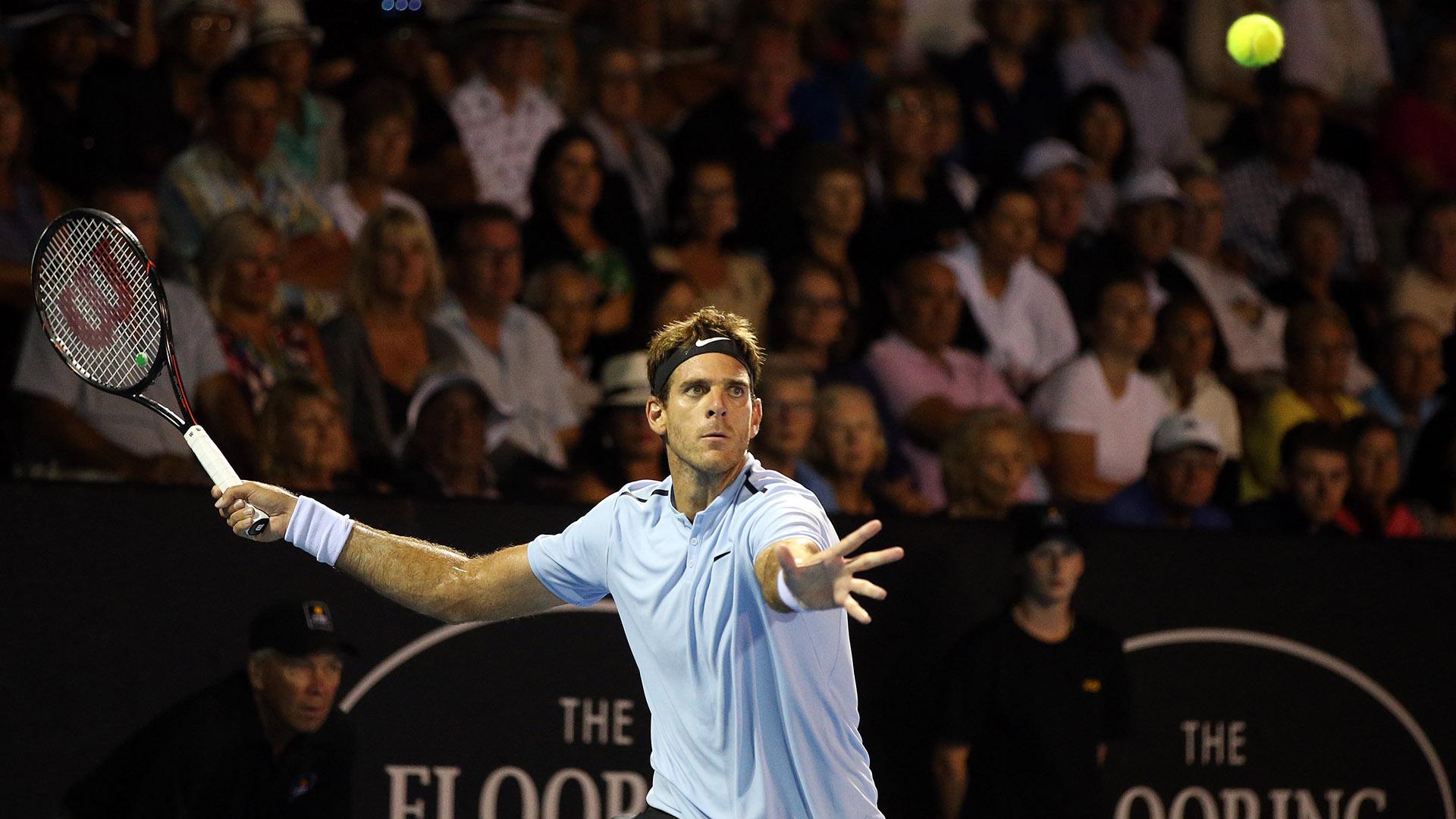 La confesión de Del Potro tras llegar a la final del ATP de Auckland