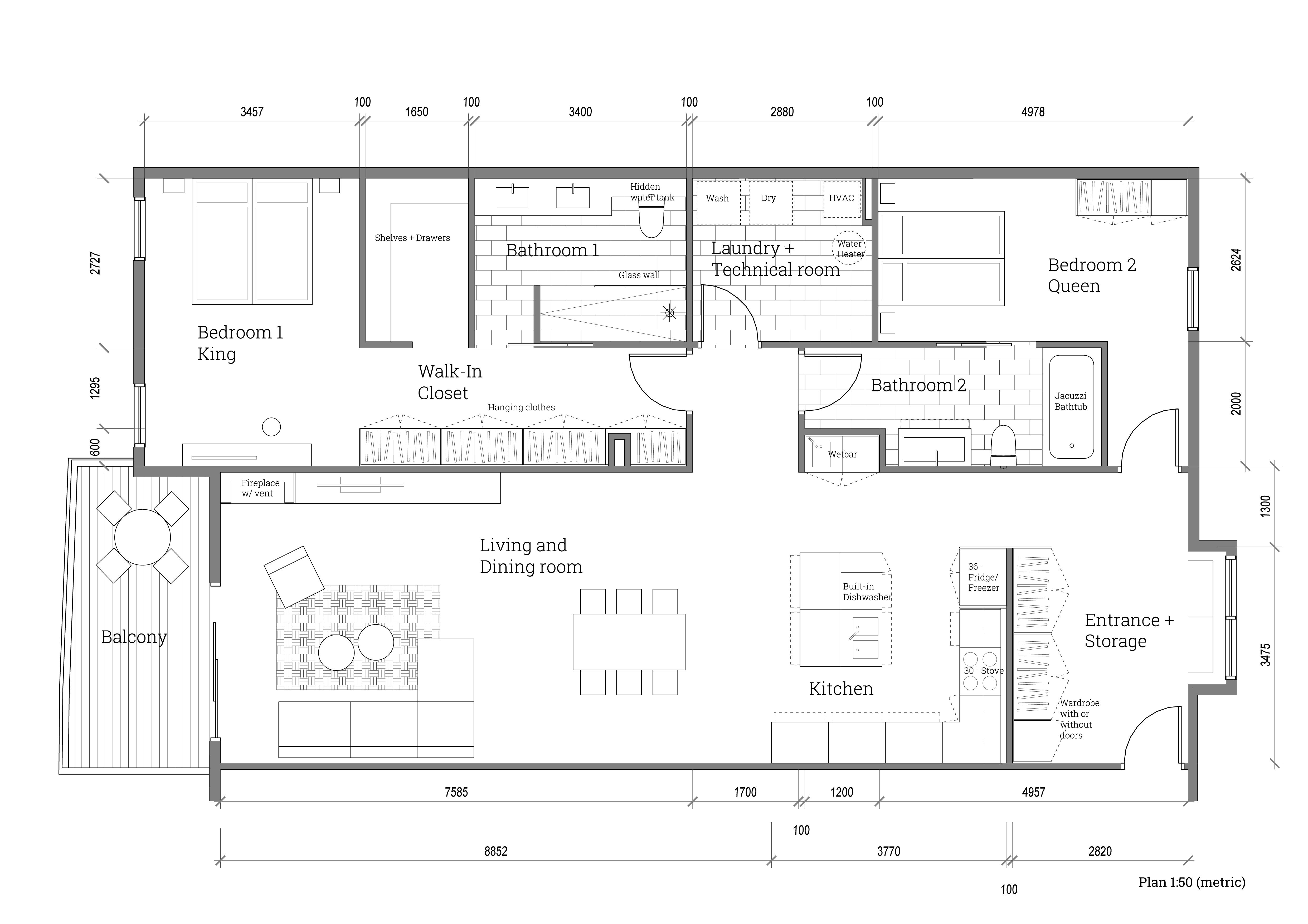 16 top photos ideas for small condo floor plans for Small condo plans