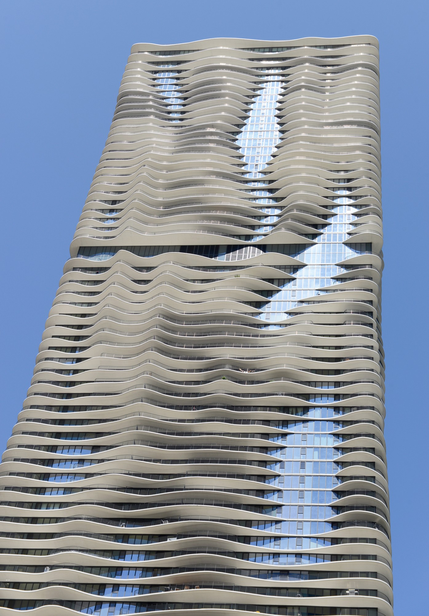 Architecture Buildings In Chicago aqua · buildings of chicago · chicago architecture foundation - caf