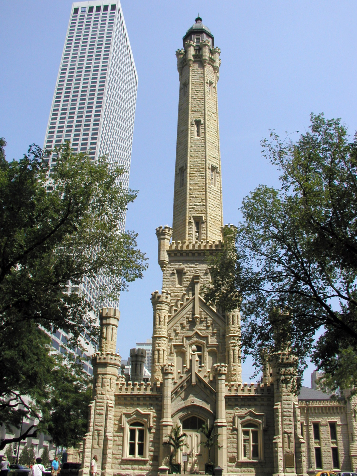 great architecture buildings. Wonderful Buildings Chicago Water Tower With Great Architecture Buildings