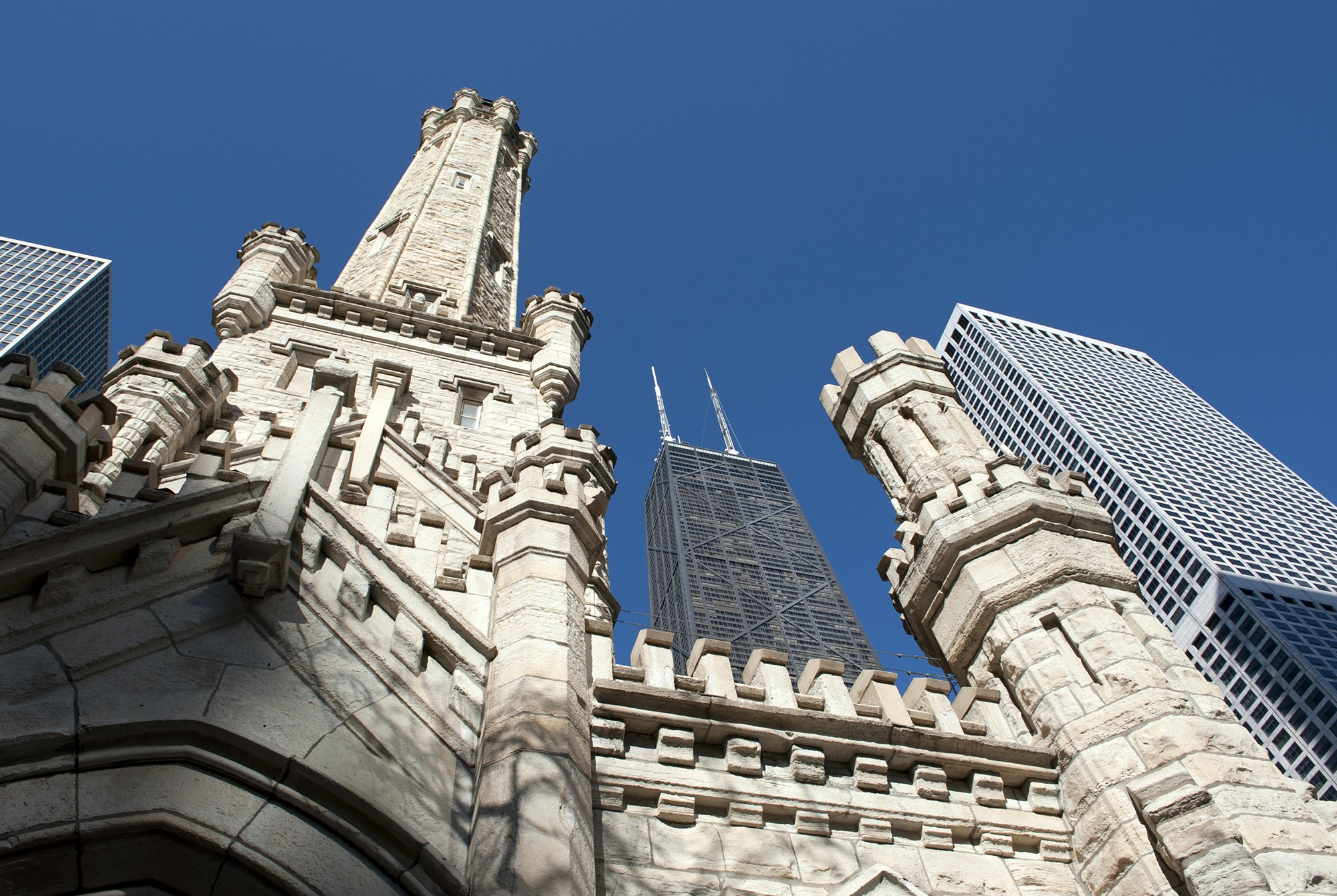 Chicago water tower buildings of chicago chicago - Architecture of a building ...