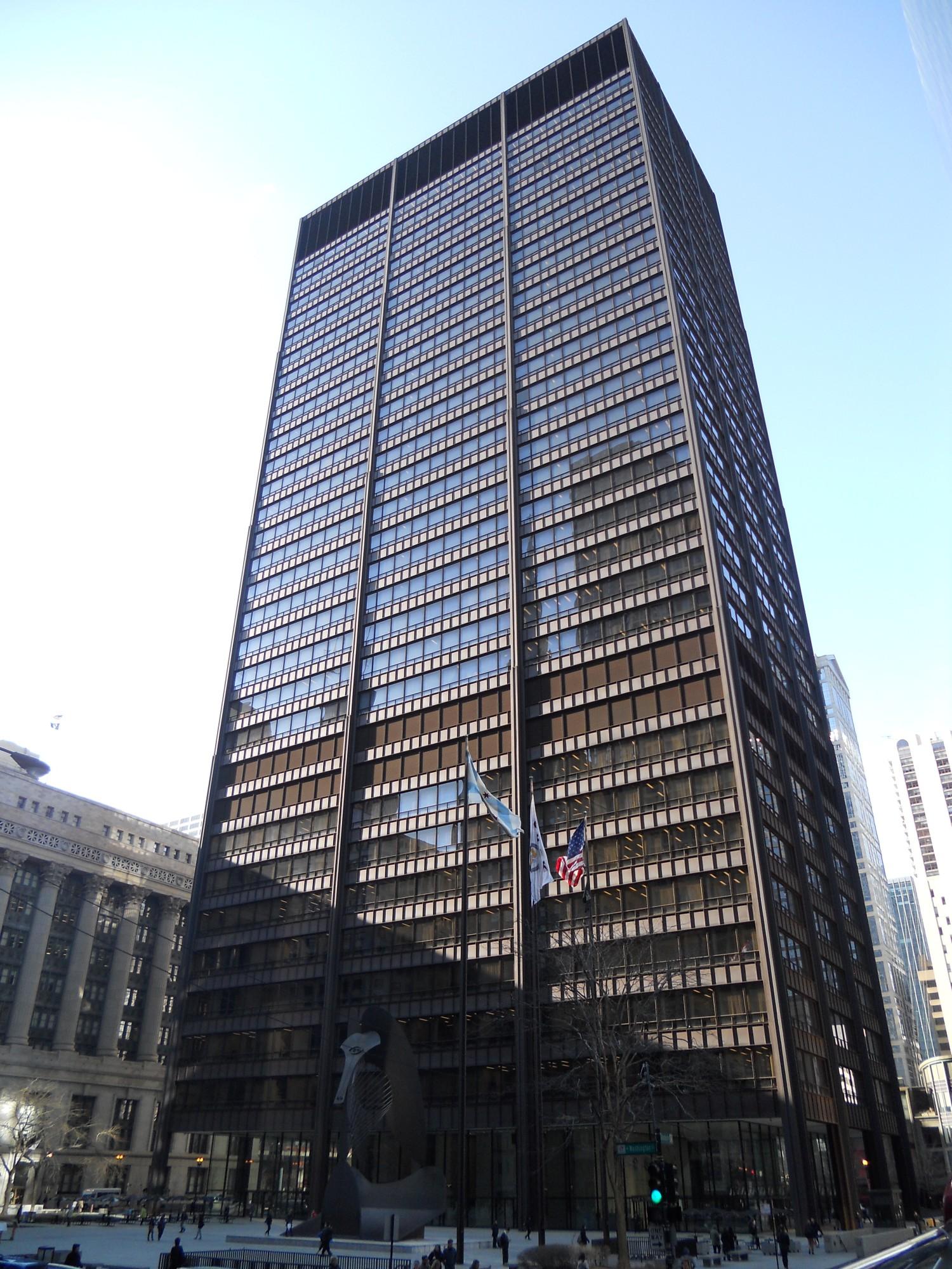 Richard J Daley Center & 183 Buildings Of Chicago
