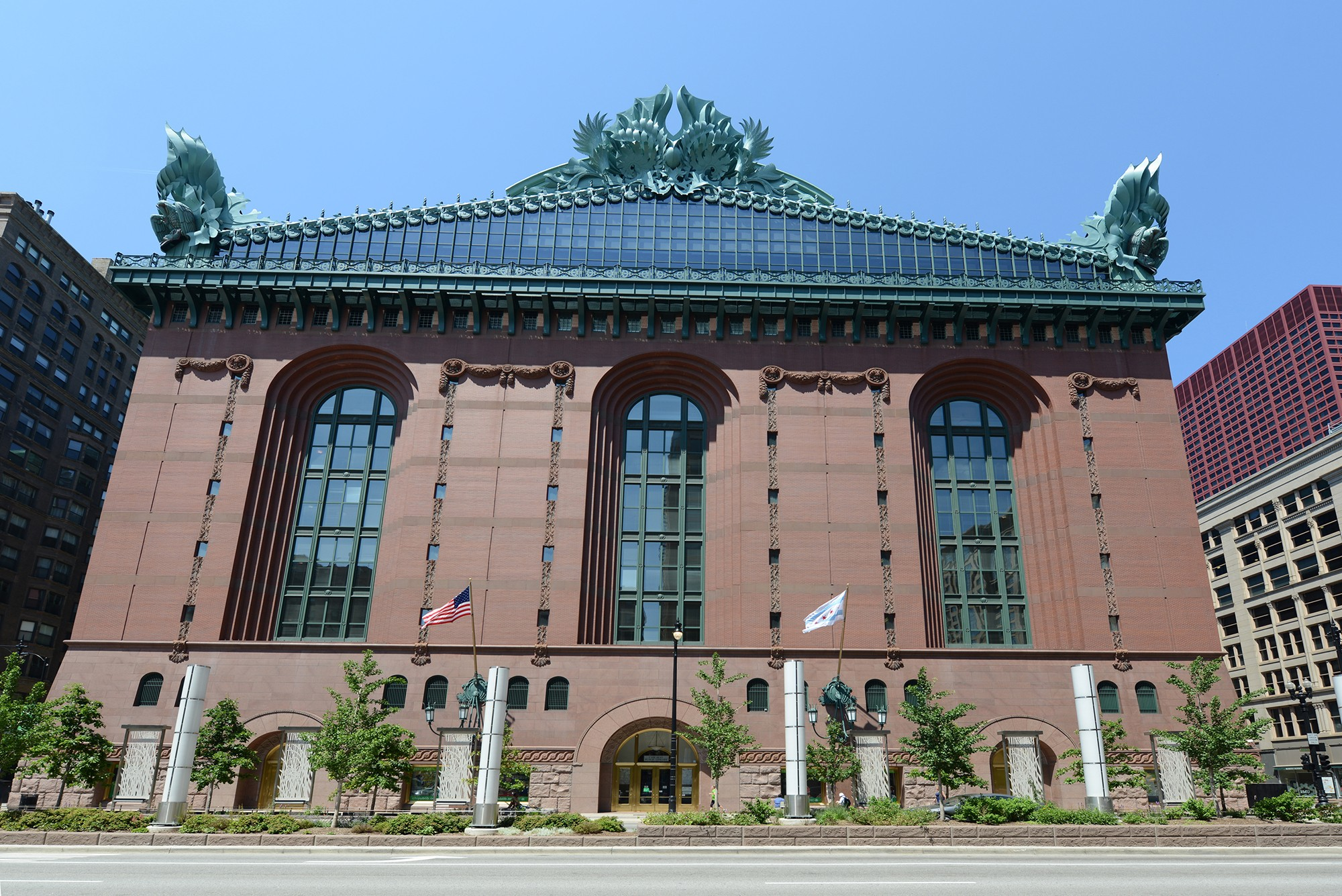Harold Washington Library · Buildings of Chicago · Chicago ...