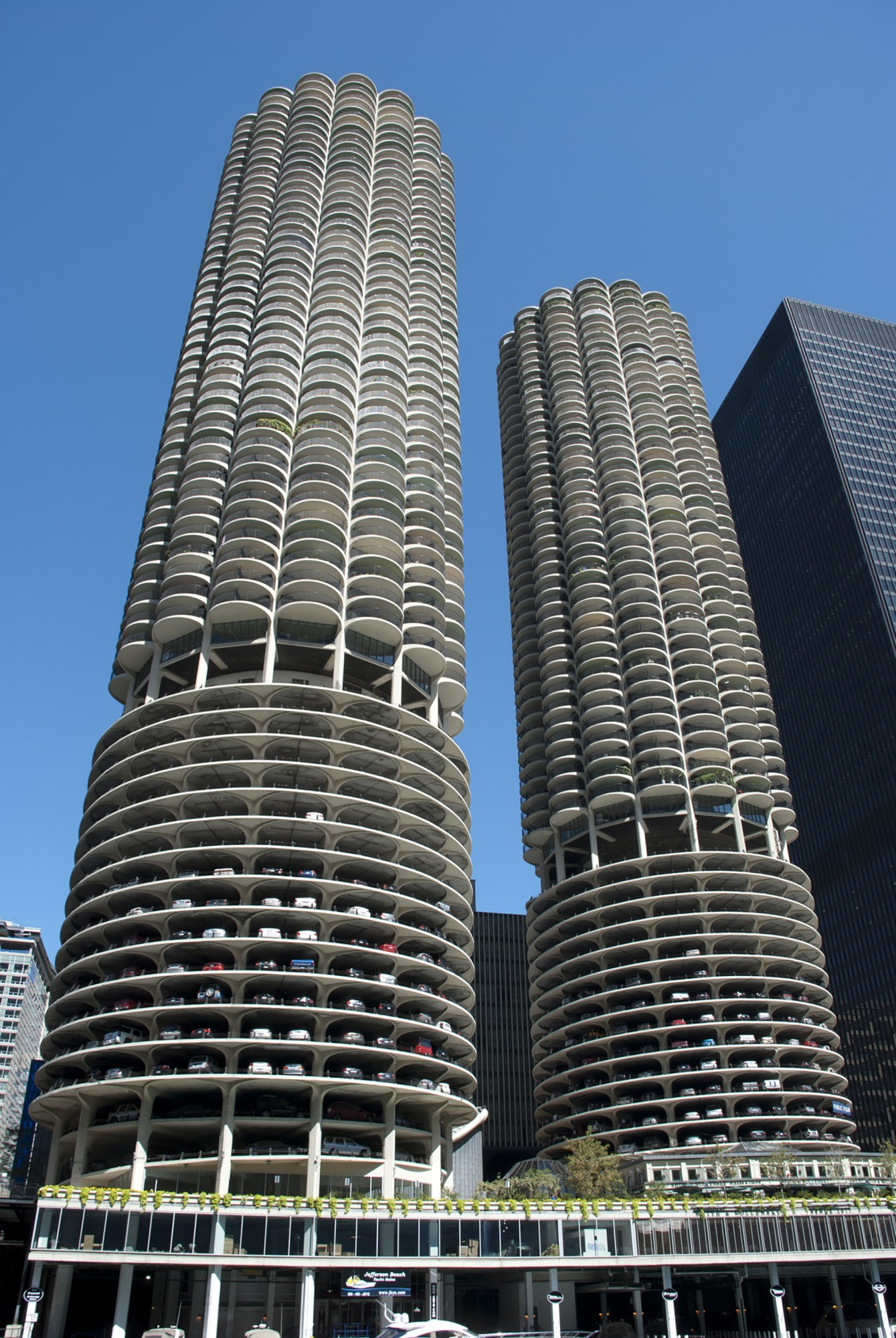 Marina city · buildings of chicago · chicago architecture center cac