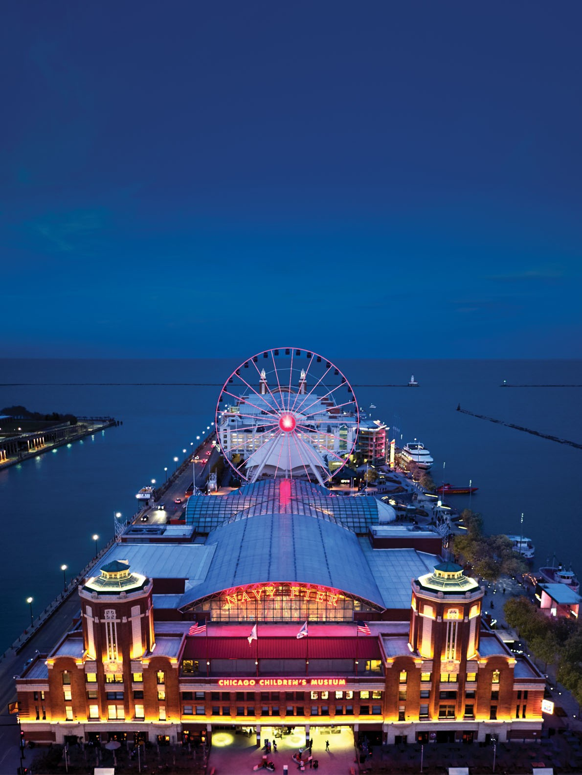 Navy pier buildings of chicago chicago architecture for Pier home