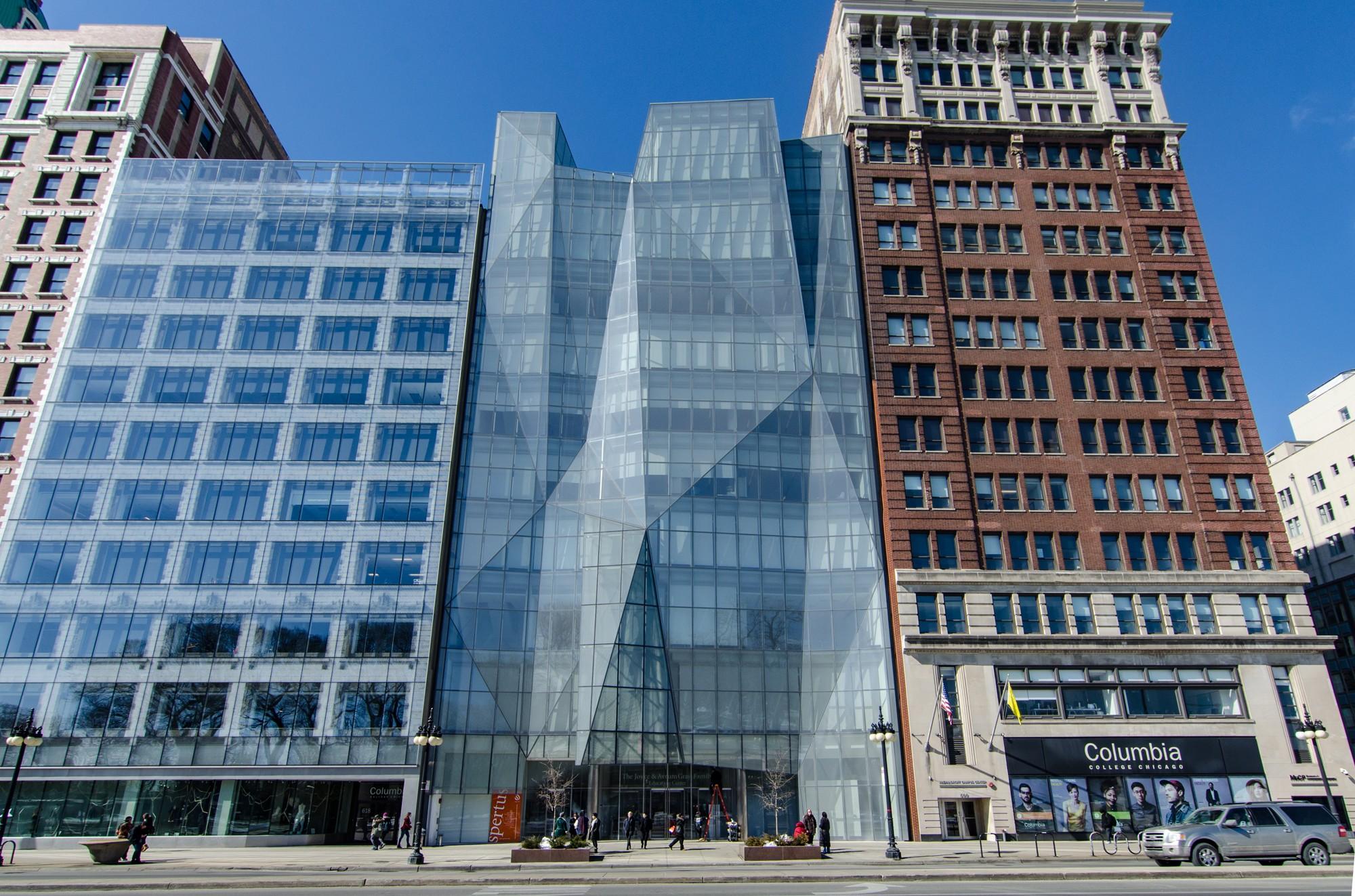 Spertus institute buildings of chicago chicago architecture center cac for Michigan design center home tour