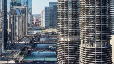 marina city buildings of chicago chicago architecture center cac. Black Bedroom Furniture Sets. Home Design Ideas