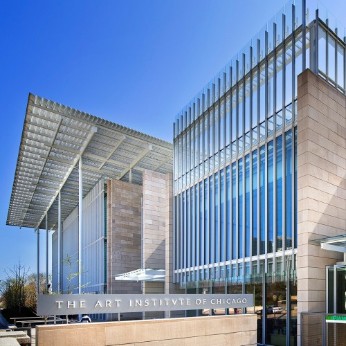 Attirant Art Institute Of Chicago: The Campus And Modern Wing