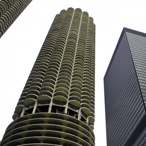 city building. Modernist Masterpieces  Marina City and the IBM Building Buildings of Chicago Architecture