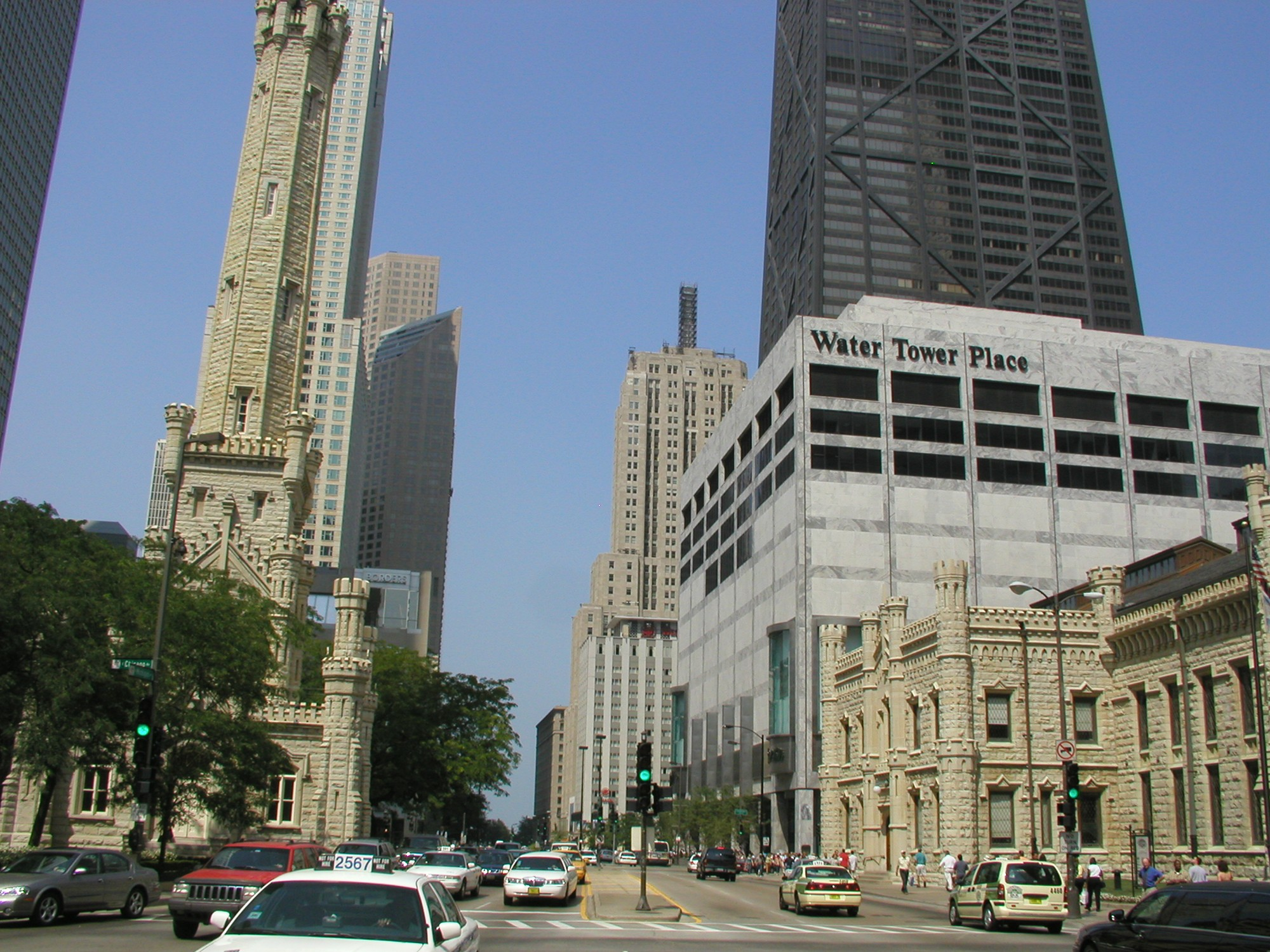 Magnificent Mile  Tours  Chicago Architecture Foundation CAF - Chicago map miracle mile