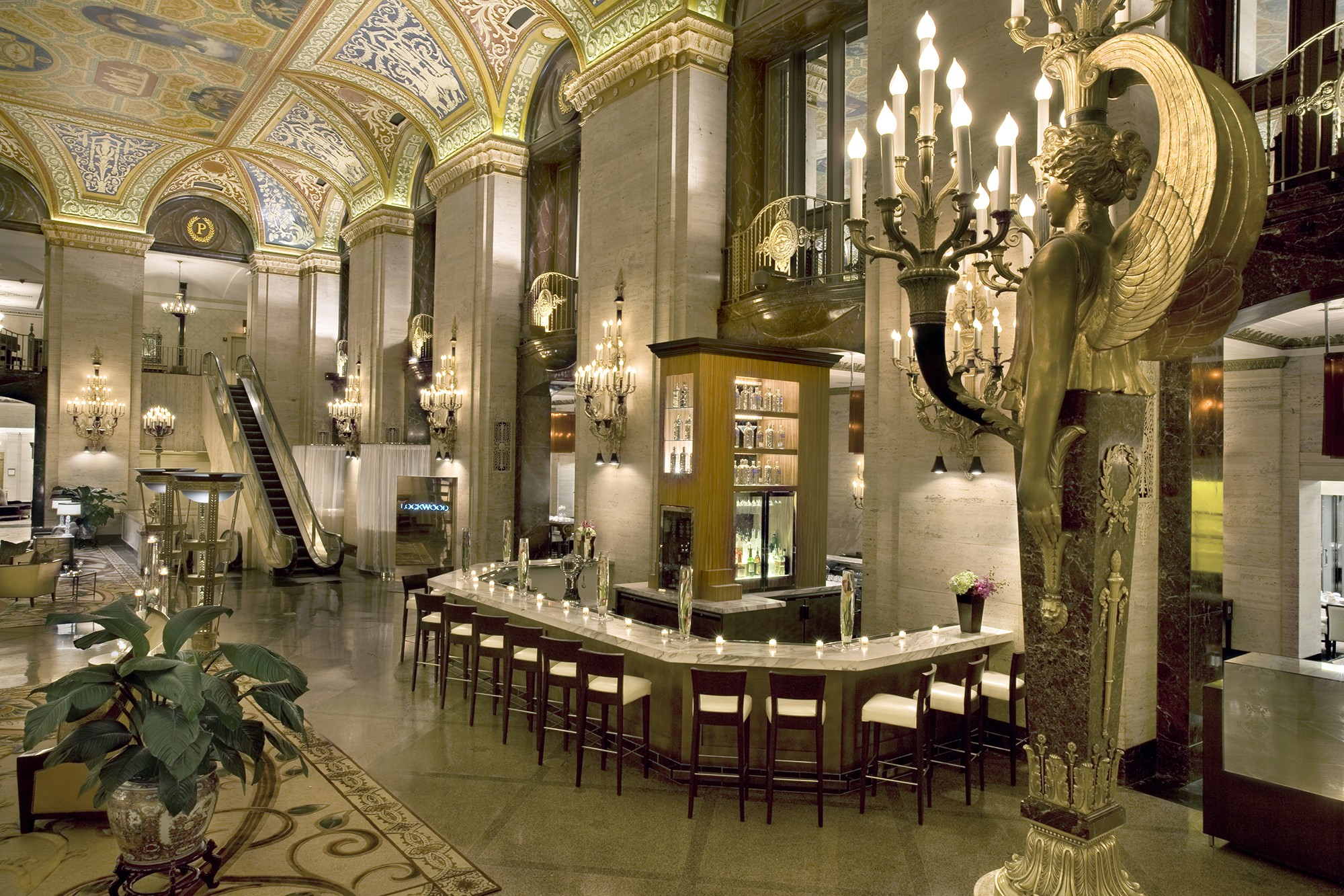 Palmer house hotel tours chicago architecture for The interior deco