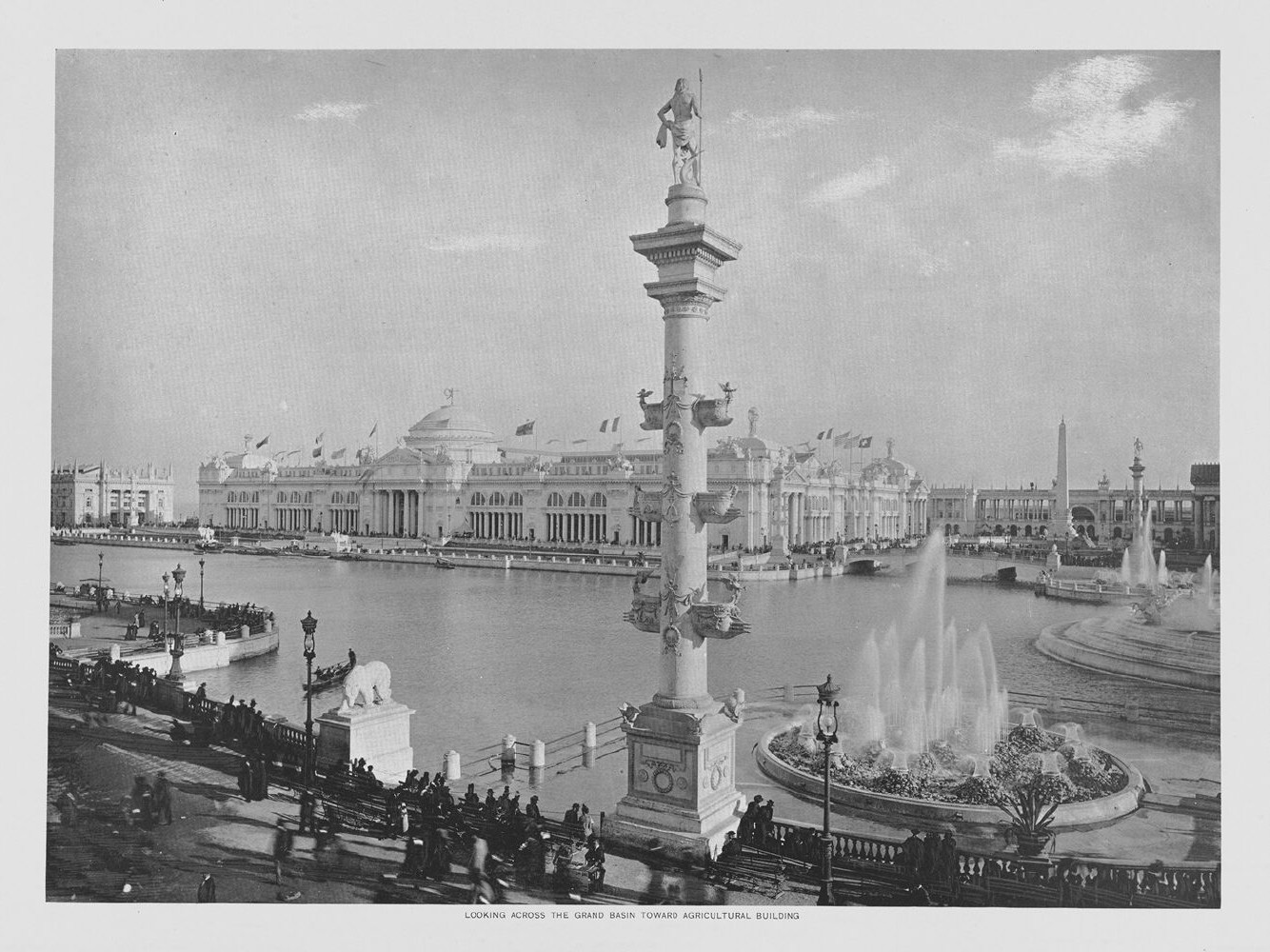 What is an essay that was written about the chicogo world's fair held in 1893