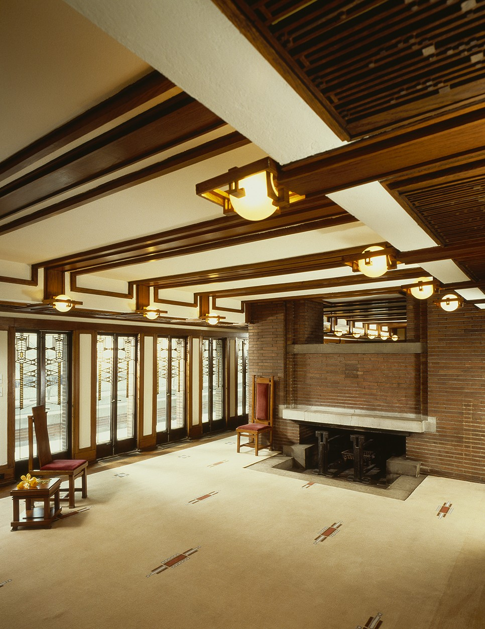 Residential gallery prairiearchitect frank lloyd wright for Architecture and design