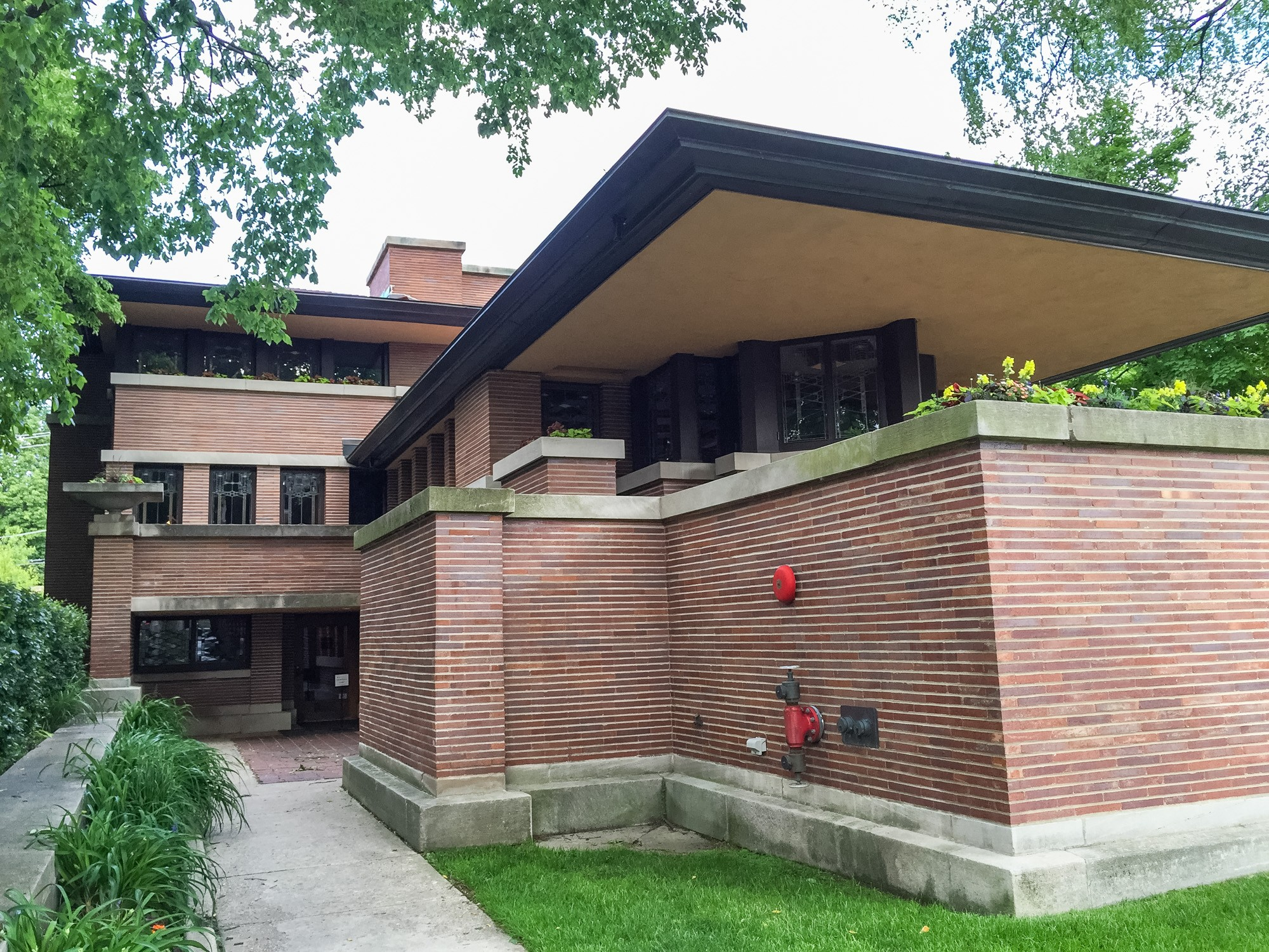 Frederick c robie house sites open house chicago for Fredrick house