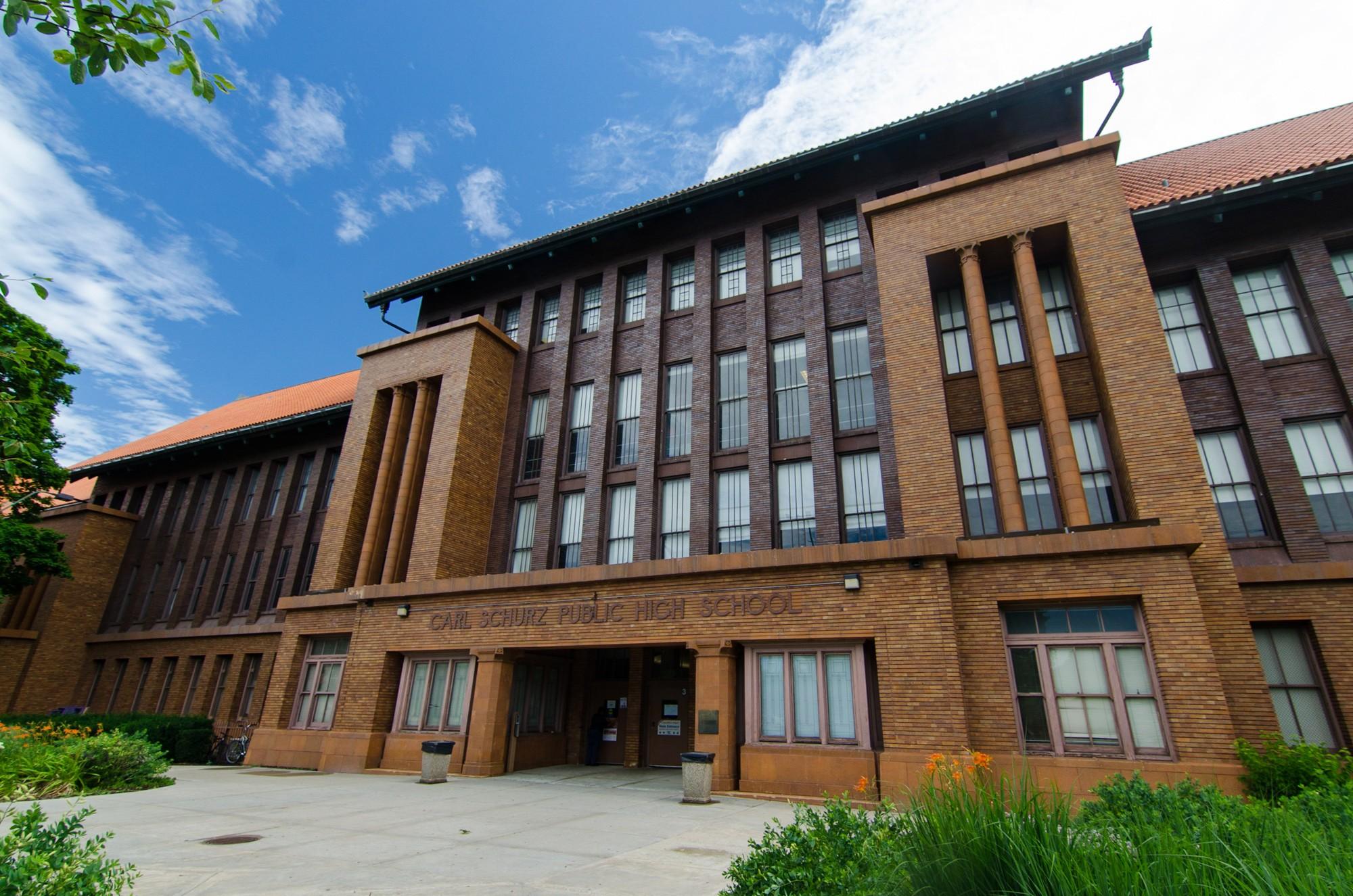 Carl Schurz High School 183 Sites 183 Open House Chicago
