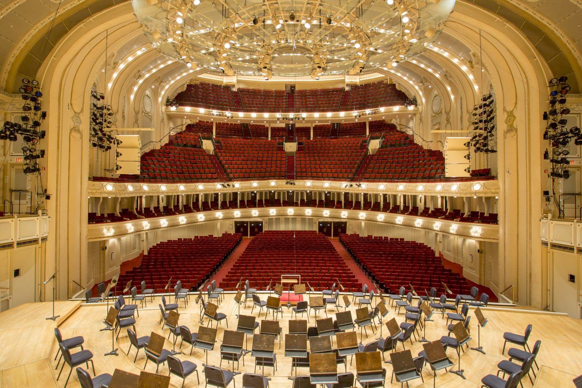Orchestra Hall At Symphony Center Sites Open House Chicago