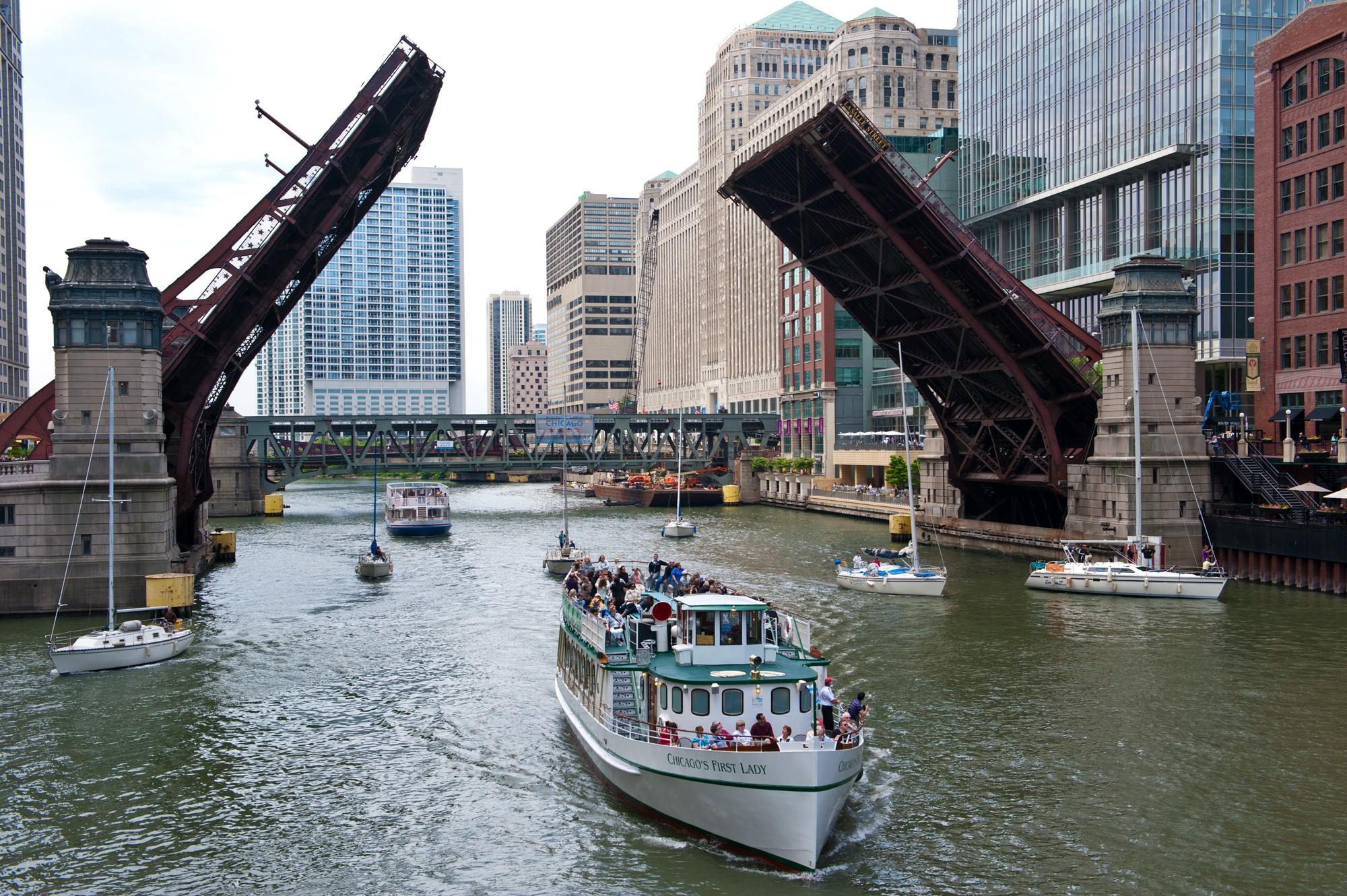 Chicago's movable bridges · Chicago Architecture Center - CAC
