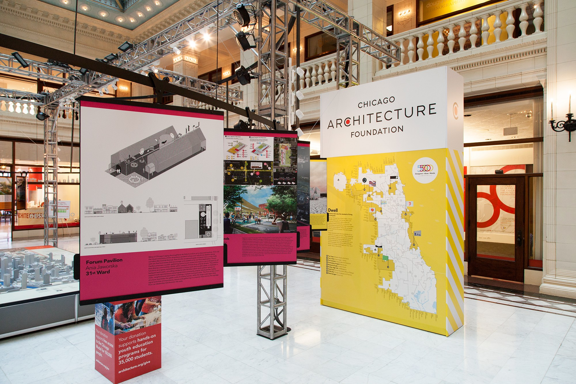 """a look at cac's """"50 designers, 50 ideas, 50 wards"""" exhibition"""