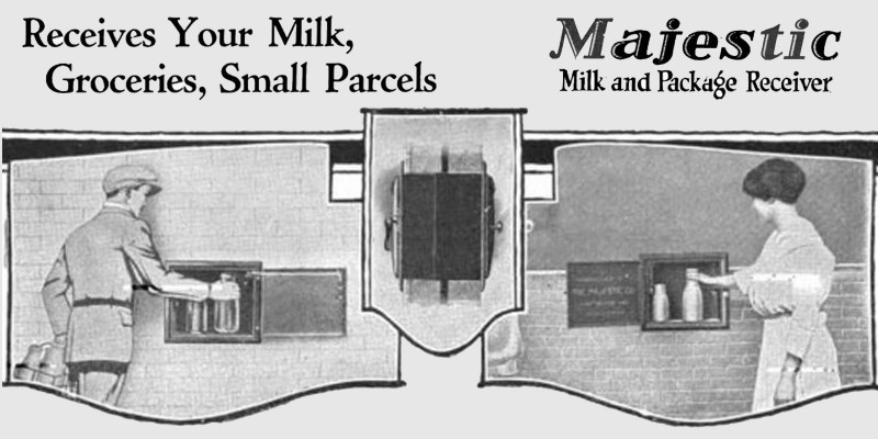 Milk and package receivers