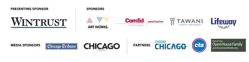 Open House Chicago sponsors and partners