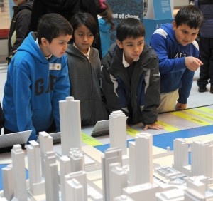 kids enjoying the chicago model