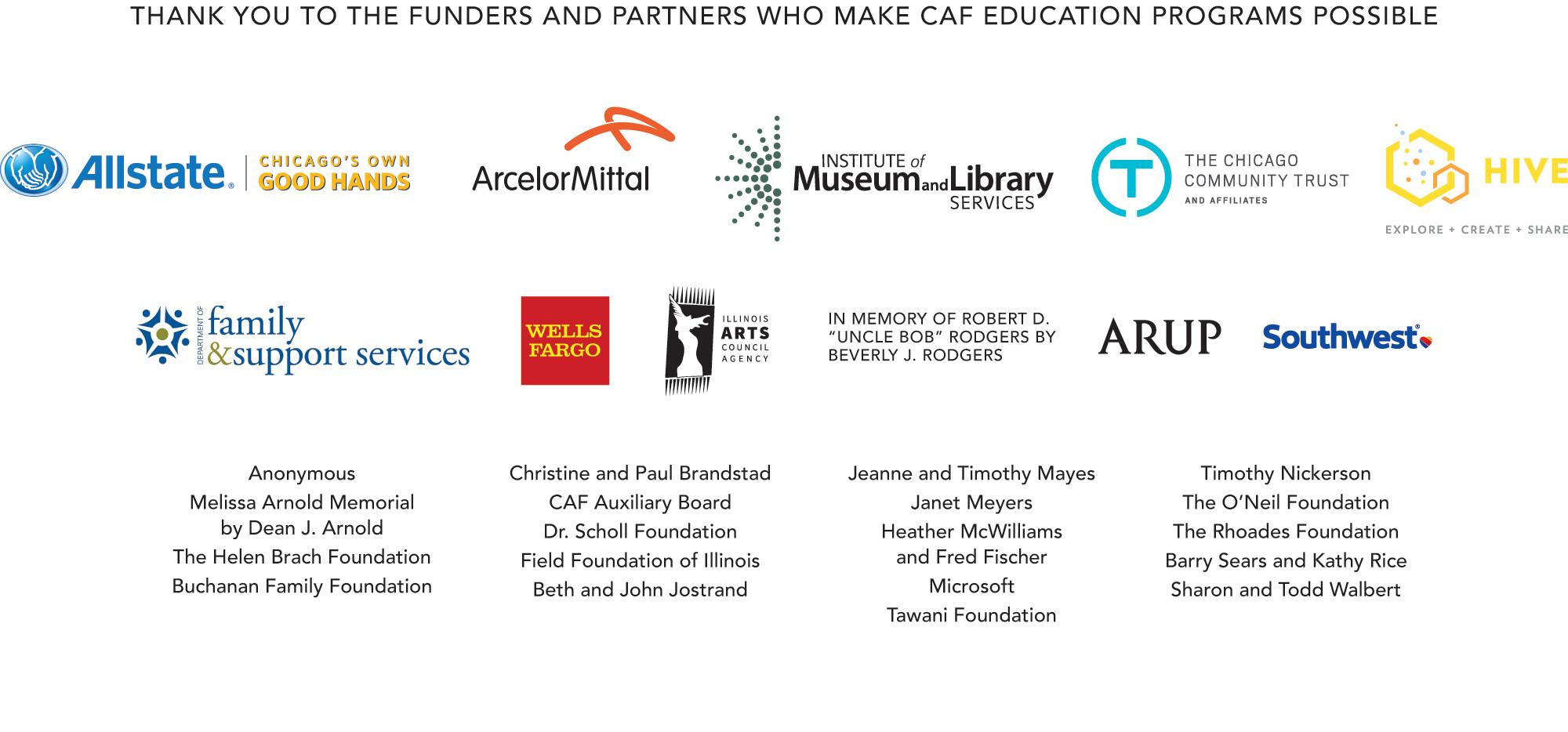 Education Program Sponsors