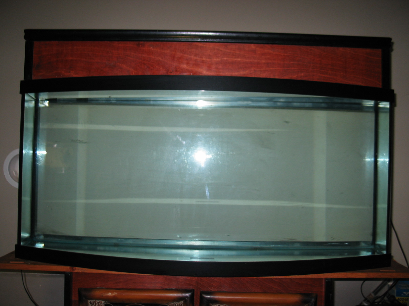 75 gallon bow front aquarium hardware austin reef club for 75 gallon fish tank dimensions