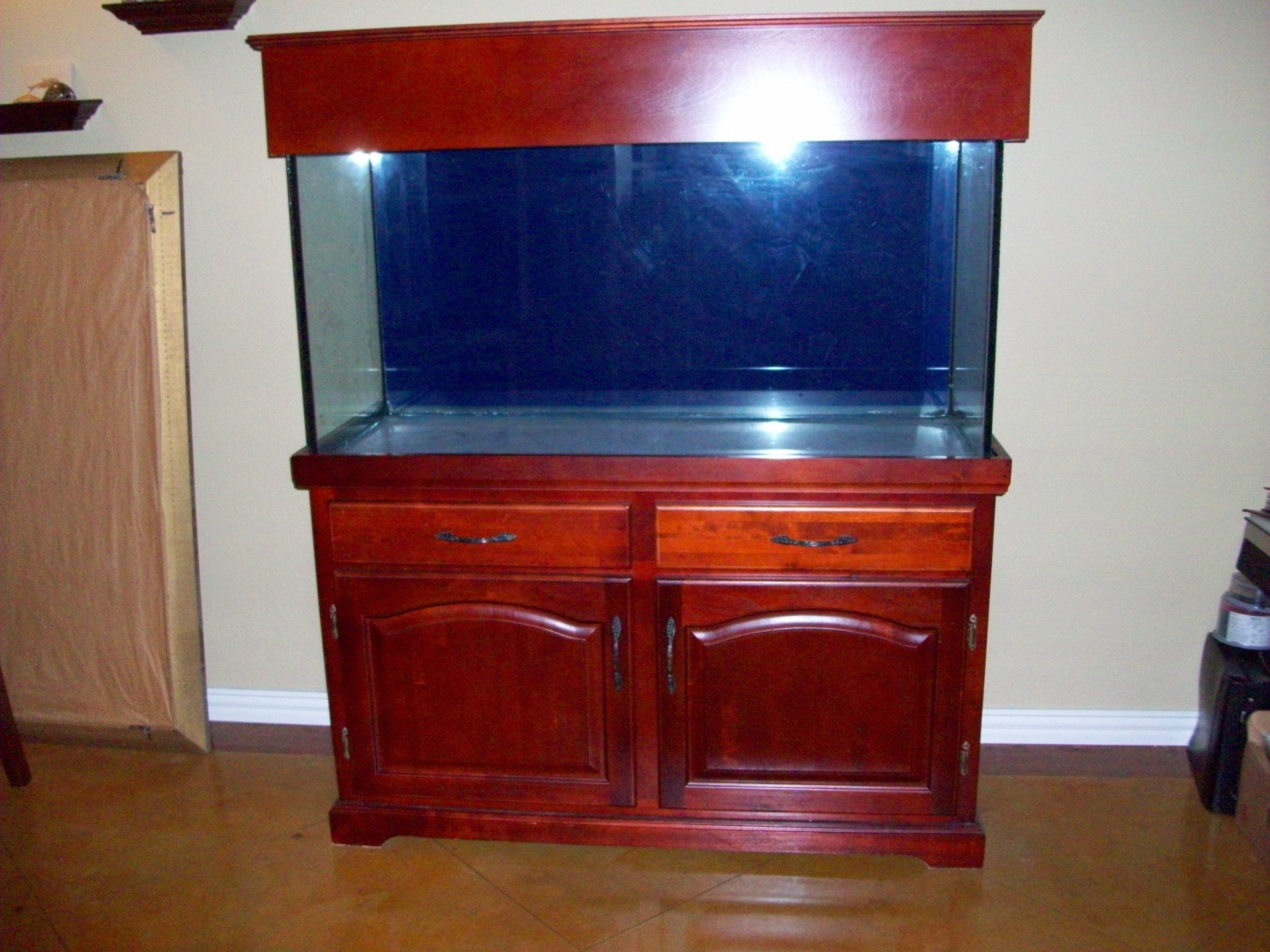 post-1587-088928400 1283610766_thumb.jpg & 90 Gallon Aquarium with Marineland Stand u0026 Canopy - Hardware ...