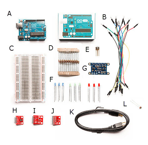 Space Kit Parts