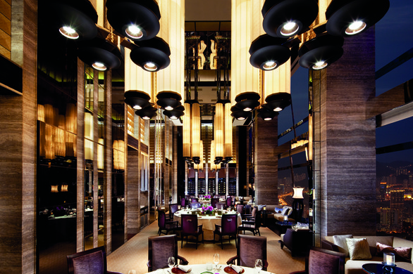 Argus guide features private dining room for Best private dining rooms hong kong