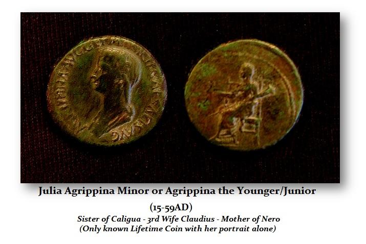 Agrippina-Minot-Dupondius