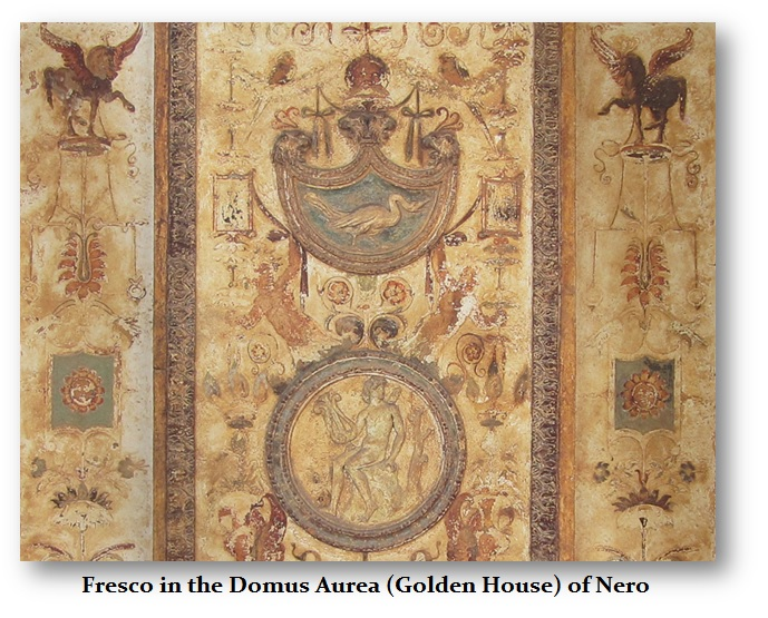Fresco-Domus Aurea