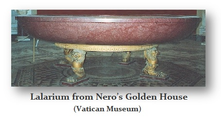 Lalarium from Nero's Golden House – Vatican Museum