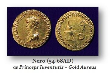 Nero as Princeps Iuventutis AU