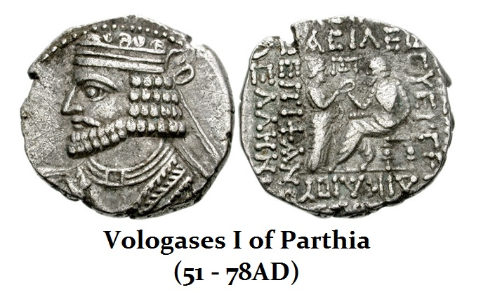 Vologases I of Parthia (51-78)
