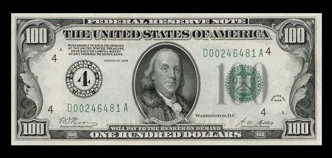 $100-1928