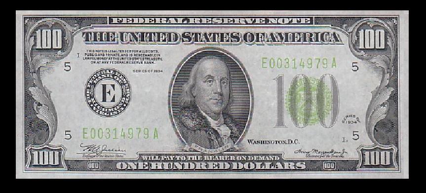 $100-1934